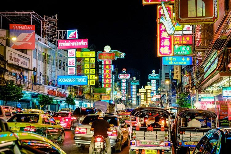 السوق الصيني في بانكوك بانكوك صدى نيوز الاخبارية